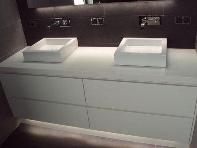 Badkamer meubel 3 keukens konings essen - Landelijke badkamer meubels ...